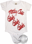 Motley Crue Girls Snap Suit