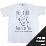 Motley Crue Junk Food Shirts