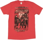 Motley Crue Sunset Strip T Shirt Sheer
