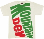 Mountain Dew Logo T Shirt