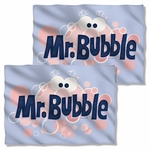 Mr Bubble Eye Logo FB Pillow Case