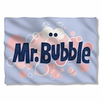 Mr Bubble Eye Logo Pillow Case