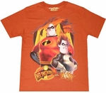 Mr Incredible Vs Syndrome T-Shirt