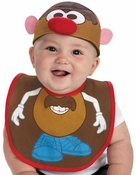 Mr Potato Head Bib Hat Infant Costume
