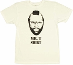 Mr T Face T-Shirt Sheer