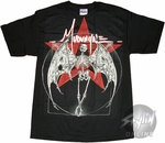 Mudvayne Winged Skeleton T-Shirt