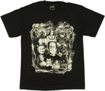 Munsters Collage T Shirt