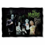 Munsters Family Pillow Case
