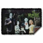 Munsters Family Throw Blanket