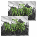 Munsters Logo FB Pillow Case