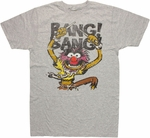 Muppets Animal Bang T Shirt Sheer