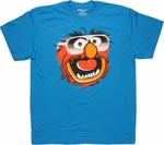 Muppets Animal Foil Shades T Shirt