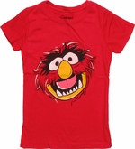 Muppets Animal Head Juvenile T Shirt