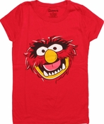 Muppets Animal Head Youth T Shirt
