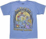 Muppets Electric Mayhem Band T Shirt Sheer