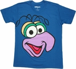 Muppets Gonzo Head T Shirt Sheer