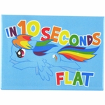 My Little Pony 10 Seconds Flat Magnet