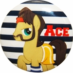 My Little Pony Ace Button