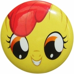 My Little Pony Apple Bloom Face Button