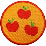 My Little Pony Applejack Cutie Mark Patch
