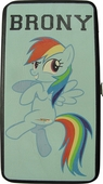 My Little Pony Brony Light Blue Clutch Wallet