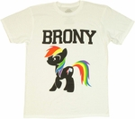 My Little Pony Brony Profile T Shirt Sheer