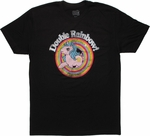 My Little Pony Double Rainbow T Shirt Sheer
