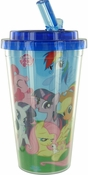 My Little Pony Group Flip Straw Travel Cup