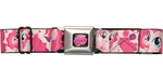 My Little Pony Pinkie Hearts Flowers Seatbelt Belt