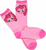 My Little Pony Pinkie Pie Head Crew Socks