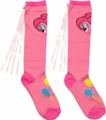 My Little Pony Pinkie Pie Ribbon Knee High Socks