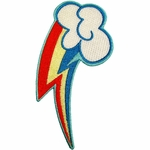 My Little Pony Rainbow Dash Cutie Mark Patch