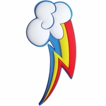 My Little Pony Rainbow Dash Cutie Mark Pin