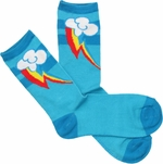 My Little Pony Rainbow Dash Mark Crew Socks