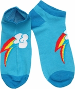 My Little Pony Rainbow Dash Mark Low Cut Socks