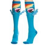 My Little Pony Rainbow Dash Wings Knee High Socks