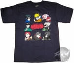 Naruto Menu T-Shirt