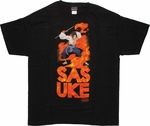 Naruto Sasuke Name Stack T-Shirt