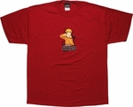 Naruto Double Sided Red T-Shirt