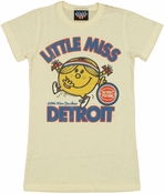 NBA Little Miss Detroit Baby Tee
