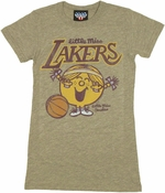NBA Little Miss Lakers Baby Tee