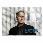 NCIS Glass Wall Pillow Case