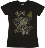 New Kids on the Block Squares Baby Tee