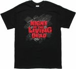Night of the Living Dead Eyes Logo T Shirt