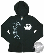 Nightmare Before Christmas Action Junior Hoodie
