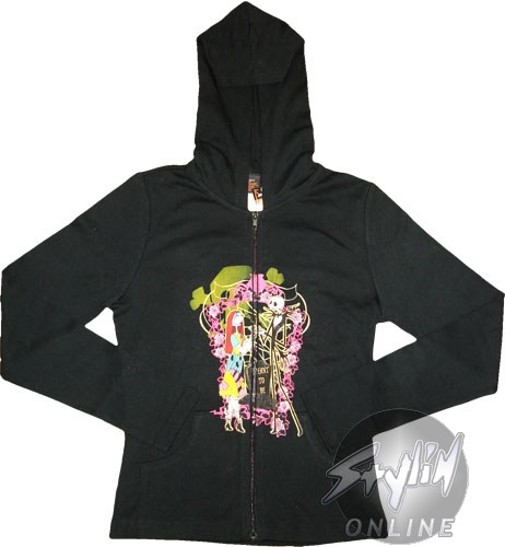 Nightmare Before Christmas Baby Doll Hoodie
