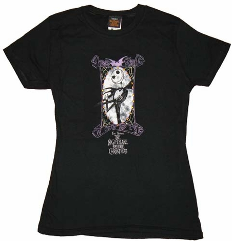 Nightmare Before Christmas Baby Tee