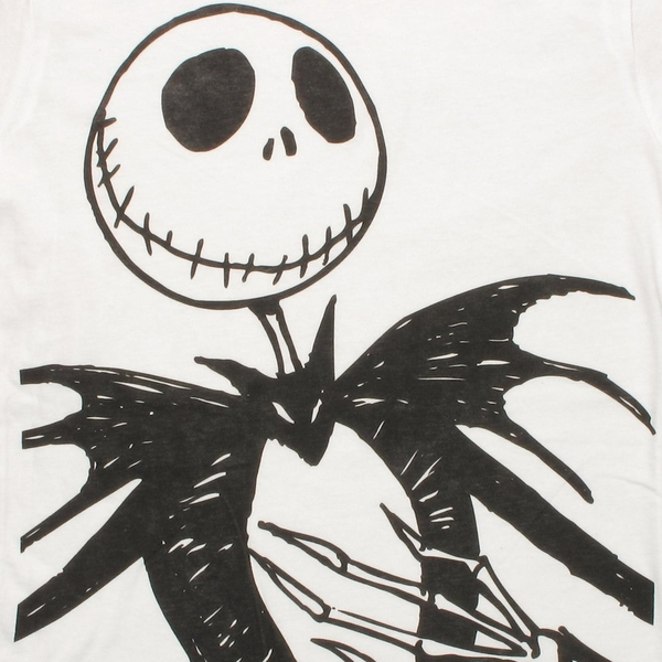 nightmare before christmas jack nightmare_jack_jumbo_face_black_shirt_pop - Jack From Nightmare Before Christmas