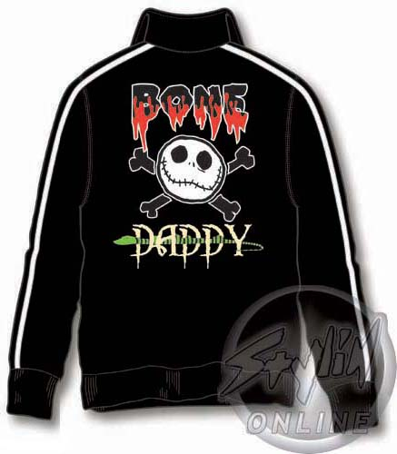 Free Comic Book Day Nightmare Before Christmas: Nightmare Before Christmas Bone Daddy Track Jacket