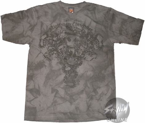 Nightmare Before Christmas Dyed Youth T-Shirt